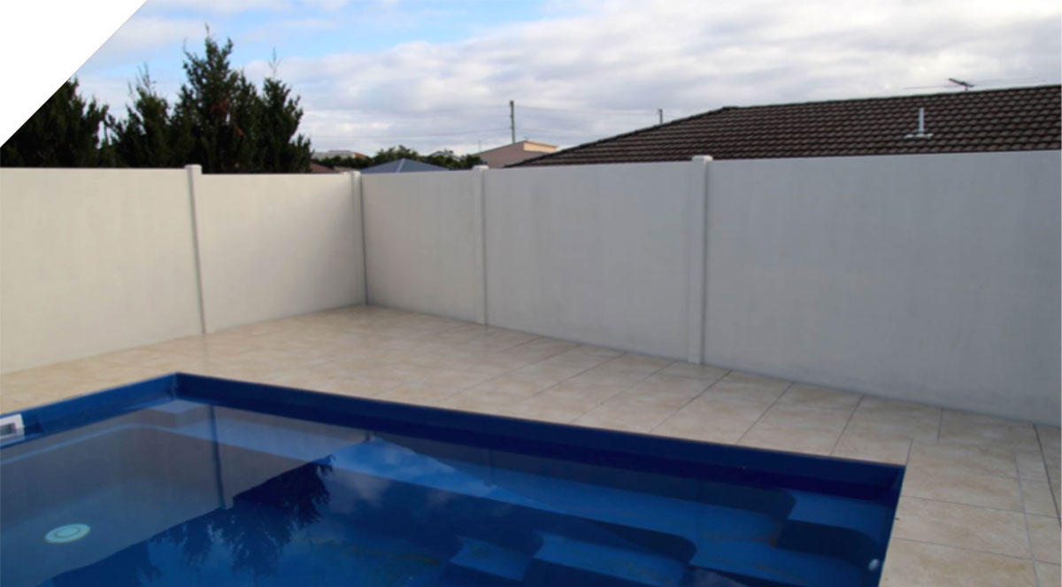 The clean appearance of the Slenderline sound proof fence panels combined with the excellent acoustic performance makes it the perfect boundary wall solution.