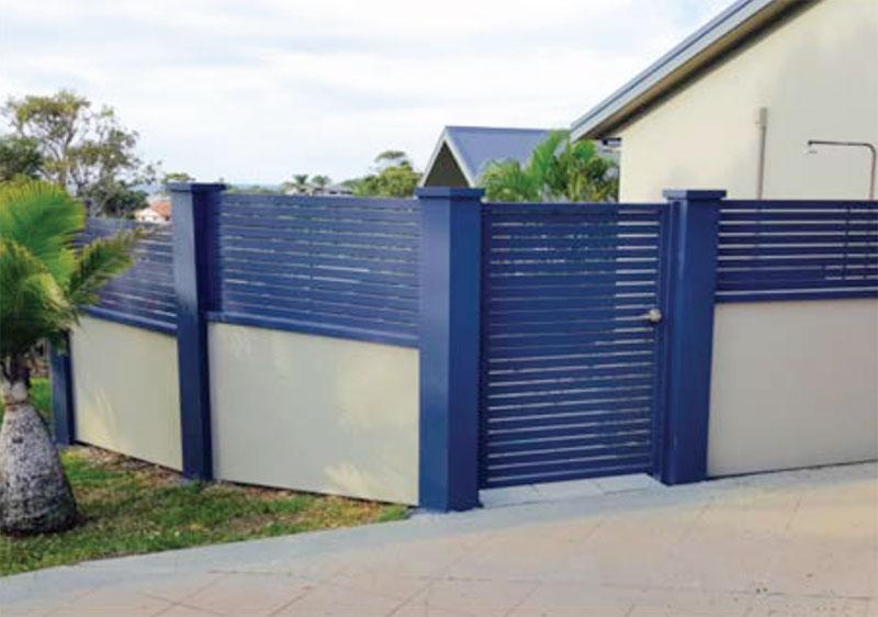 Residential Acoustic Fence Boundary Quickbuilt Sydney