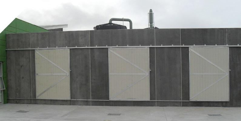 Acoustic Gates - The QUICKBUILT Fencing - Modular acoustic barrier fencing system easy and fast to install and cost effective. The QUICKBUILT sound barrier fence system has been designed by our team of builders and tradies with the DIY market in mind.