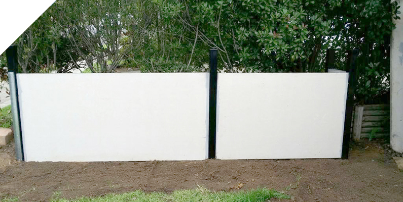 Garden retaining wall - The QUICKBUILT Fencing - Modular acoustic barrier fencing system easy and fast to install and cost effective. The QUICKBUILT sound barrier fence system has been designed by our team of builders and tradies with the DIY market in mind.
