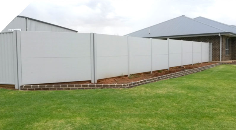 Residential Acoustic Boundary - The QUICKBUILT Fencing - Modular acoustic barrier fencing system easy and fast to install and cost effective. The QUICKBUILT sound barrier fence system has been designed by our team of builders and tradies with the DIY market in mind.
