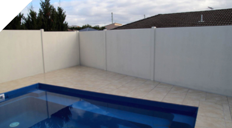 Built Pool Enclosure - The QUICKBUILT Fencing - Modular acoustic barrier fencing system easy and fast to install and cost effective. The QUICKBUILT sound barrier fence system has been designed by our team of builders and tradies with the DIY market in mind.