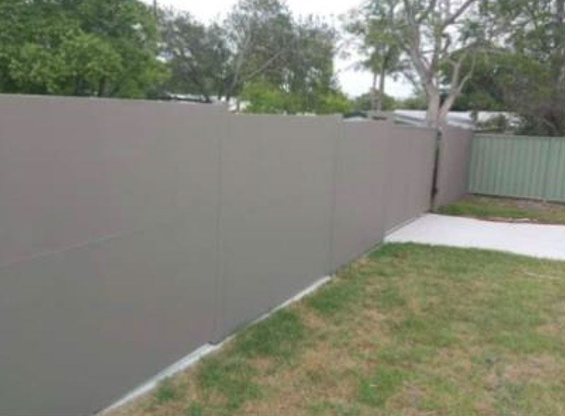 Easy to install, DIY acoustic panel fencing system.